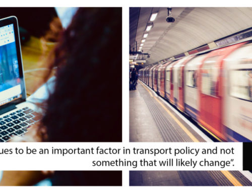 """""""Speed continues to be an important factor in transport policy and not something that will likely change."""""""