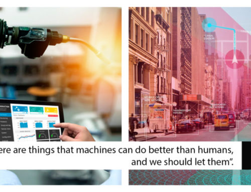 """""""We are already letting machines do many services for us: There are things that machines can do better than humans, and we should let them."""""""